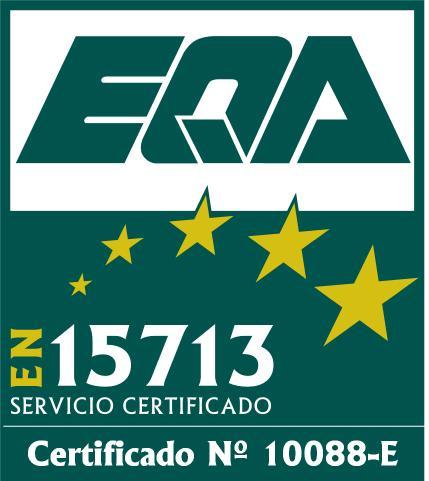 certificacion EN 15713
