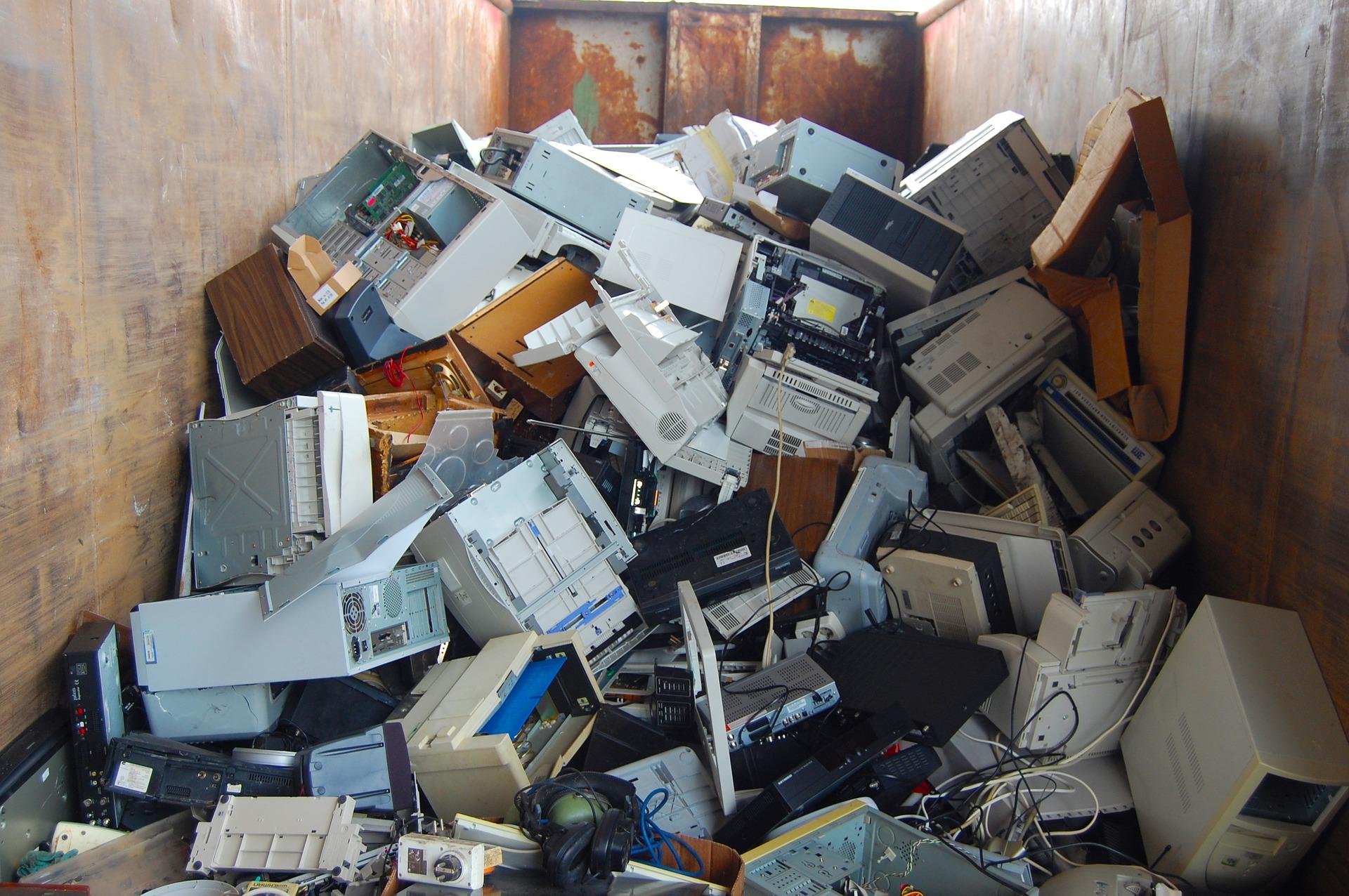 Reciclaje de equipos informáticos
