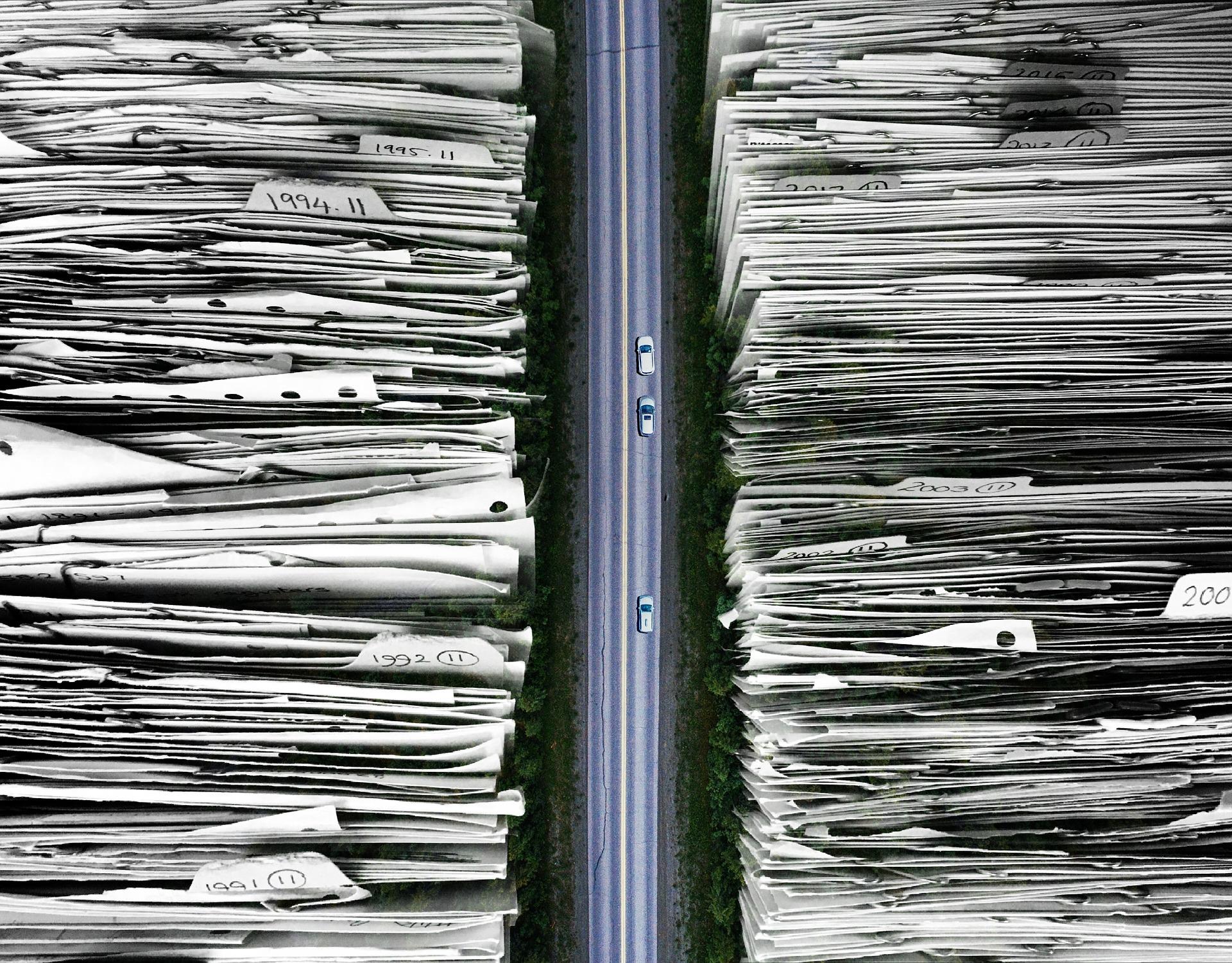Destrucción de documentos y su impacto